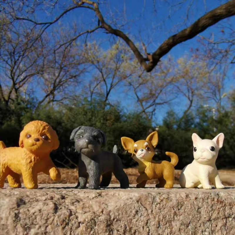 1 pcs/kitty cat/miniature/bello sveglio/fairy garden gnome/muschio terrario decorazione/artigianato /bonsai/casa di bambola/figurine/modello/giocattolo