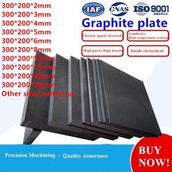 Placa de grafito, disipador térmico de grafito anticorrosión, bloque de pirólisis de electrodos de alta temperatura