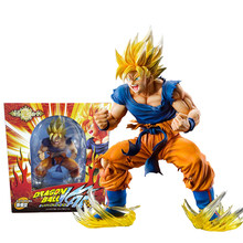 PVC originale Medicos Dragon Ball Z Figure Super Saiya Sun Goku rage Action Anime figure Collection modello giocattoli per ragazzi