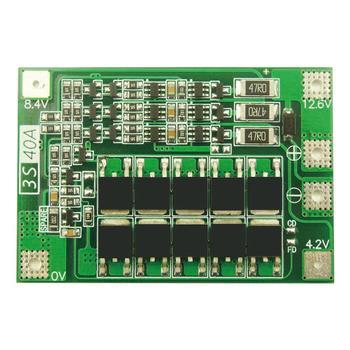 3S 40A Li-Ion Lithium Batterij Oplader Bescherming Boord 18650 Bms Voor Boor Motor 11.1V 12.6V Verbeteren/balans