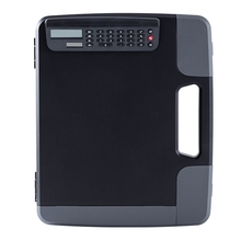 A4 Folder with Calculator A4 File Box Business Folder Storage Box Manager Conference Calculator School Office Stationery
