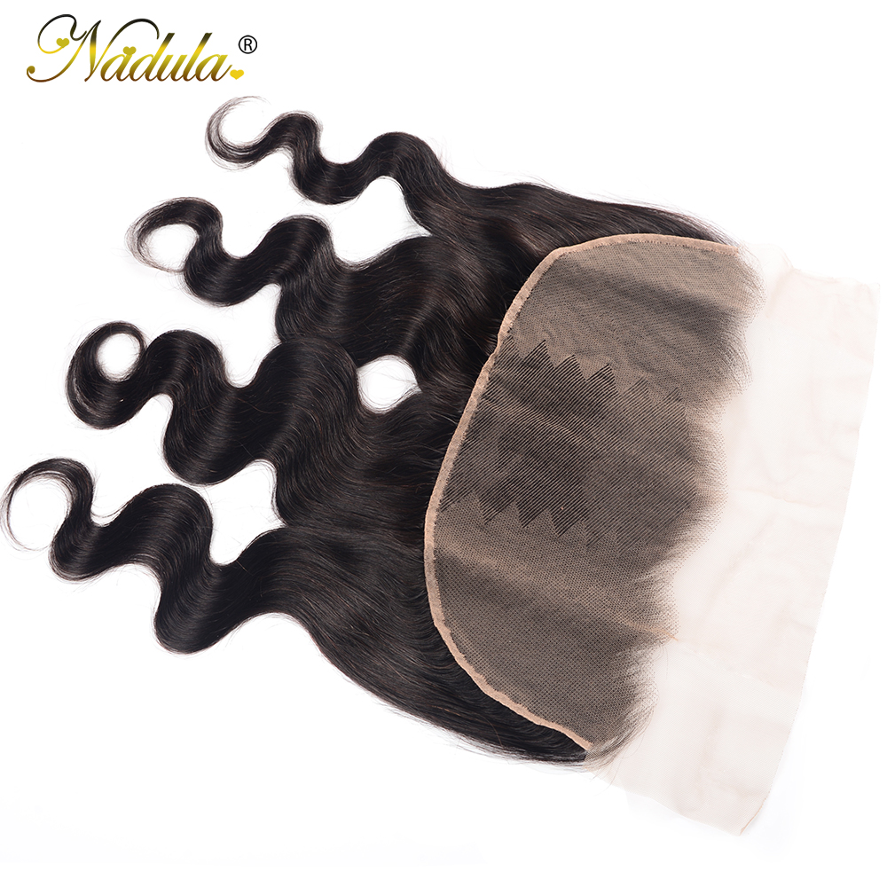 Nadula Hair 13X4 ear to ear Lace Frontal Closure  Body Wave  Frontal Free Part With Baby Hair  Hair 3