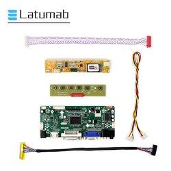 Latumab Neue Fahrer Kit Board für LP154WX4 TLC1 / LP154WX4 TLC2 HDMI + DVI + VGA LCD LED LVDS Controller bord