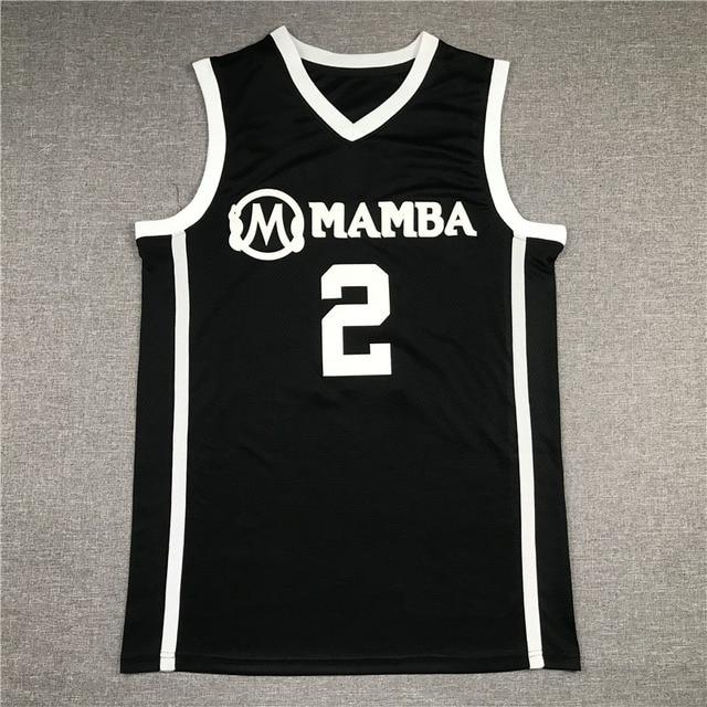 R.I.P. Gianna Bryant GiGi Mamba Black and White Basketball Jerseys