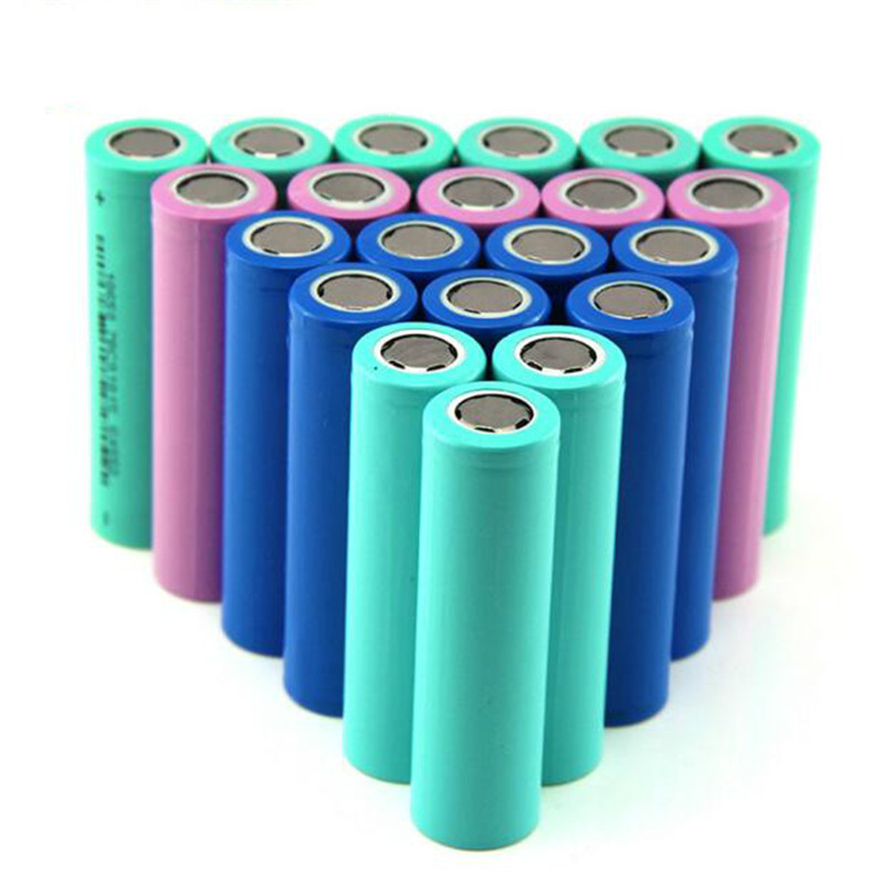 Wholesale Price 18650 1200mah 1500mah 1800mah 2000mah 2200mah 18650 3.7V rechargeable Li-ion battery for Mobile power flashlight