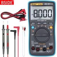 Multímetro digital bside zt301 302 true rms dc/da voltímetro amperímetro multimetro dmm resistência ohm tampão hz temp tester|Multímetros|Ferramenta -
