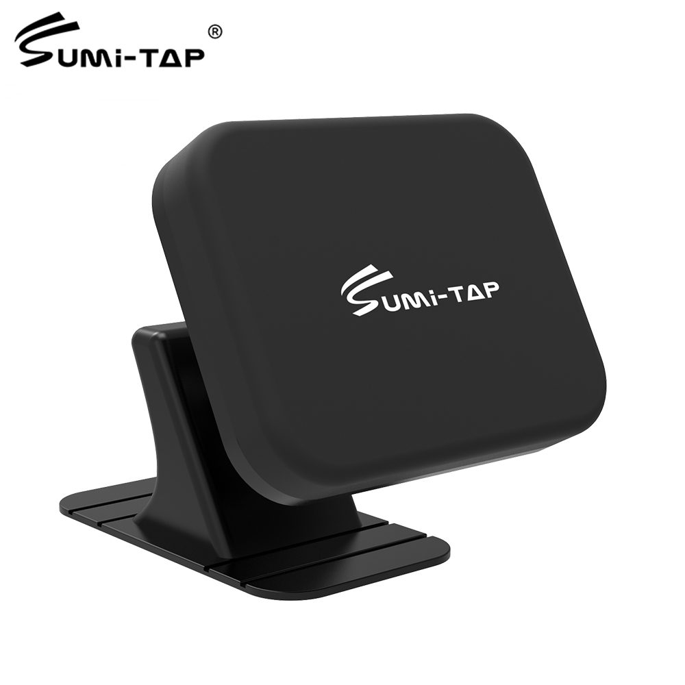 Sumi-tap Car Phone Holder Magnetic Dashboard Universal 360 GPS Navigation Mobile Phone Vent Mount Magnet Support Cellphone Stand