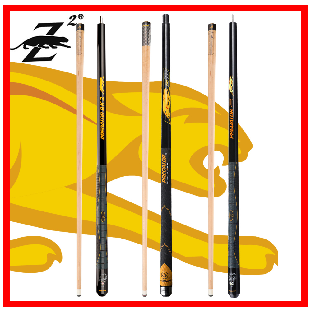 PREOAIDR 3142 BK Series Billiard Pool Cue Rubber Handle Pool Cues Stick Kit 12.75mm /11.5mm Tip Stick Kit Professional