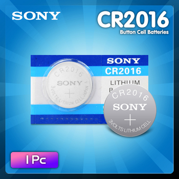 1PC FOR SONY Quality cr2016 Lithium Battery 3V Li-ion Button Battery Watch Coin Cell Batteries cr 2016 DL2016 ECR2016 BR2016 image