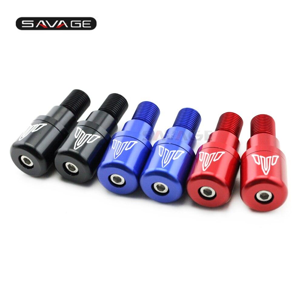 Handlebar Hand Grip Bar End Cap Cover Slider For YAMAHA XJ6 FZ 1S/6N/6S/6R FZ1S 1000N FZR600 TDM 850/900A TDM990A Motorcycle CNC