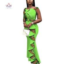 Летние африканские платья для женщин 2020 Дашики женское длинное