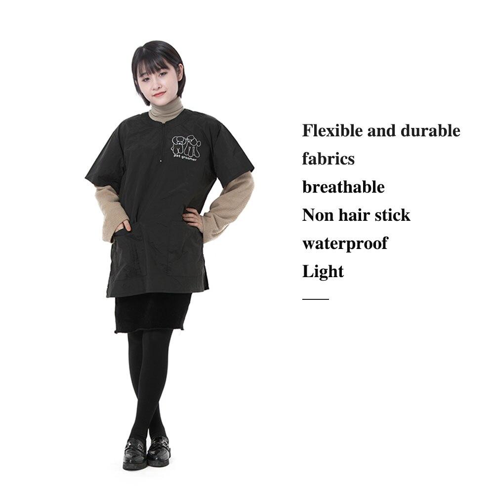 shop groomer zíper roupas de trabalho impermeável