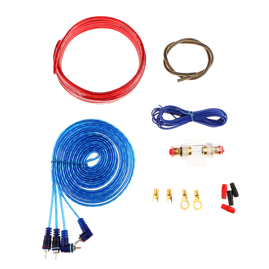 Brand New Durable Car Audio Subwoofer Amplifier Wiring Kit Power HT-302 image