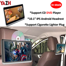 YAZH Car Android CD DVD Headrest Player With 10 1 #8243 IPS 1366*768 TFT-LCD Car Headrest Monitors With WIFI Bluetooth Mirror Link cheap 10 1 INCH A10D Electronic 1336x768 Car Monitors 4000g For BMW AUDI Mercedes Toyota Hyundai Honda etc CD-R MP3 Players CD-RW FM Transmitter