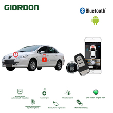 Universal Keyless Entry PKE Comfort System Android APP Phone Car Alarm Boost Remote Start Engine peugeot