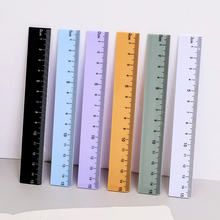 Plastic Ruler Drawing Gift School-Supplies Kawaii Stationery Office Straight 1pcs Lytwtw's