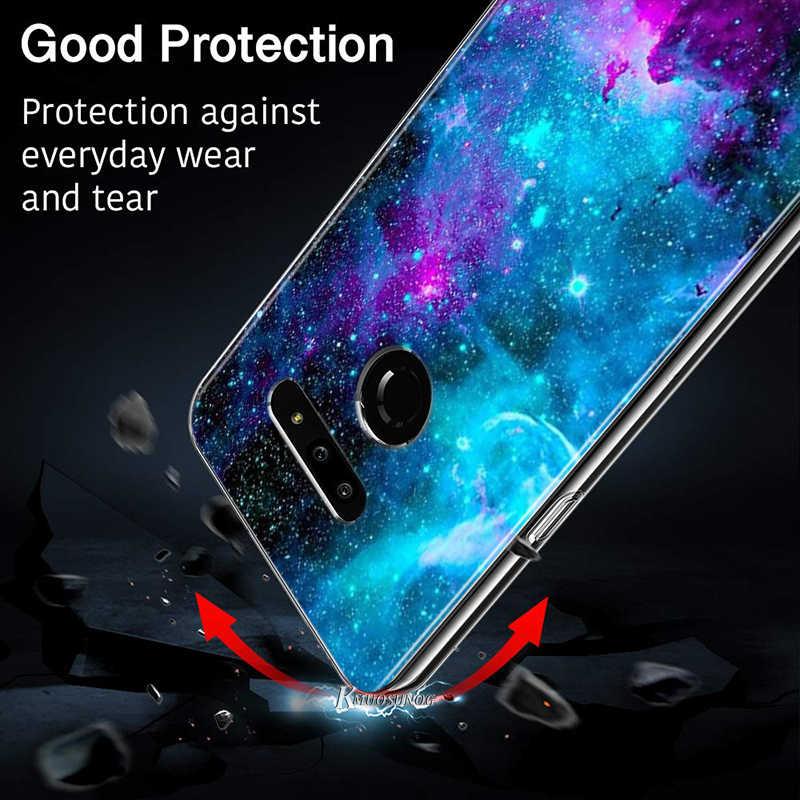 Spazio Stelle per LG W20 W10 V50S V50 V40 V30 K50S K40S K30 K20 Q60 Q8 Q7 Q6 G8 G7 g6 Thinq Cassa Del Telefono