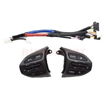 Bouton de volant pour KIA K5 boutons Bluetooth téléphone régulateur de vitesse canal de Volume commutateur de bouton à distance