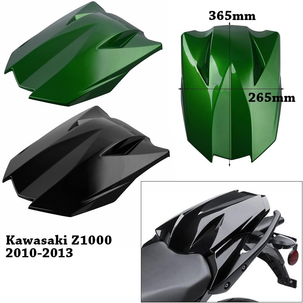 For Kawasaki Z1000 Z 1000 2010 2011 2012 2013 Motorcycle Rear Pillion Passenger Cowl Seat Cover Fairing Moto Parts Black Green
