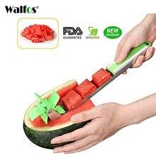 Walfos Новый резак для арбуза многофункциональная машина резки