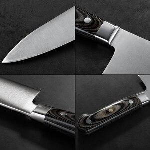 Image 5 - 전문 12 인치 요리사 나이프 독일 1.4116 스테인레스 스틸 gyuto 나이프 고품질 주방 나이프 요리 도구