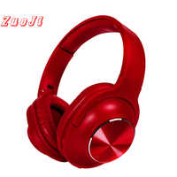 Qh16 Del Metallo di Bluetooth 5.0 auricolare floding cuffie testa-montato senza fili auricolare senza fili auricolare Bluetooth HIFI