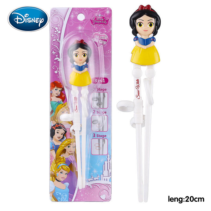 Disney Kids Learning Training Chopsticks ABS Cartoon Children Helper Chopsticks Home Baby Products For Right Hand Use