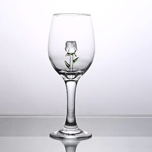 Wine Glass Cups Retro Vintage Relief Red Wine Cup 300ml Engraving Embossment Juice Drinking Glasses Champagne Assorted GobletsG3