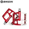 BIKEIN Велоспорт Горный велосипед/дорожный велосипед 3 подшипника с ЧПУ педаль 5 цветов противоскользящие плоские MTB BMX педали 9/16 дюймов велоси...