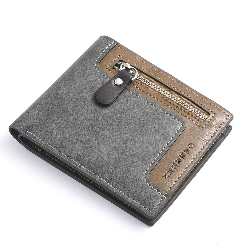 Fashion 2020 Brand Wallet Men Leather Men Wallets Purse Short Male Clutch Leather Wallet Mens Money Bag Quality Guarantee Men Men's Bags Men's Wallets cb5feb1b7314637725a2e7: Dark Coffee|black|gray