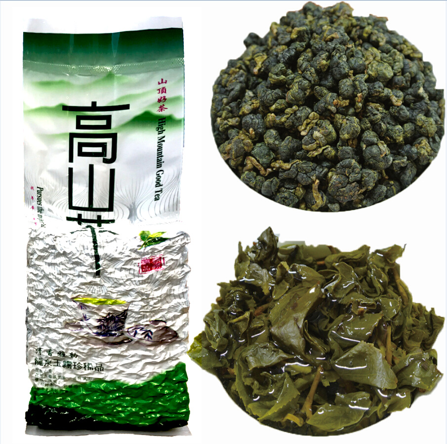 BY Taiwan High Mountains Jin Xuan Milk té Oolong para el cuidado de la salud Dongding Oolong Verde té comida con sabor a leche perder peso