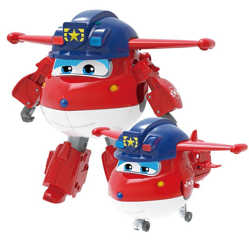 Большой! 15 см ABS Супер Крылья деформация самолет робот фигурки Супер крыло Трансформация игрушки для детей подарок Brinquedos - Цвет: No Box B