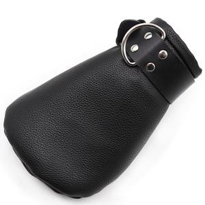 Унисекс ПУ мягкие лапы варежки для взрослые игры БДСМ бондаж, сексуальная собака ролевые игры щенок черные перчатки, секс-игрушки для пар