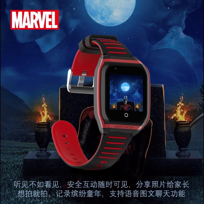 Disney Original +Marvel 4G Children% 27s Телефон часы сенсорный экран GPS позиционирование Disney Watch Full Netcom Iron Man Watch