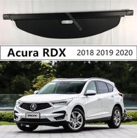 Für Hinten Stamm Security Shield Cargo Abdeckung Für Acura RDX 2018 2019 2020 Hohe Qualität Auto Zubehör Schwarz Beige