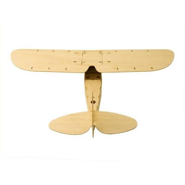 ZYO-6 Toy Model Balsa Wood KIT Hand Launch Free Flight Glider Model Static Plane