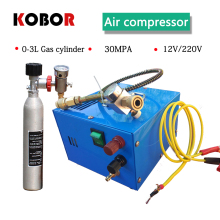 4500psi 300bar 30mpa 12v Pcp Air Compressor 220v Mini Pcp Compressor Electric Portable Pcp Pump High Pressure Air gun Compressor 4500psi high pressure auto stop electric pump 30mpa pcp air compressor air pump for pneumatic airgun scuba rifle gun pcp filter