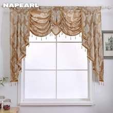 1 шт роскошная декоративная занавеска на окно с бусинами драпировка