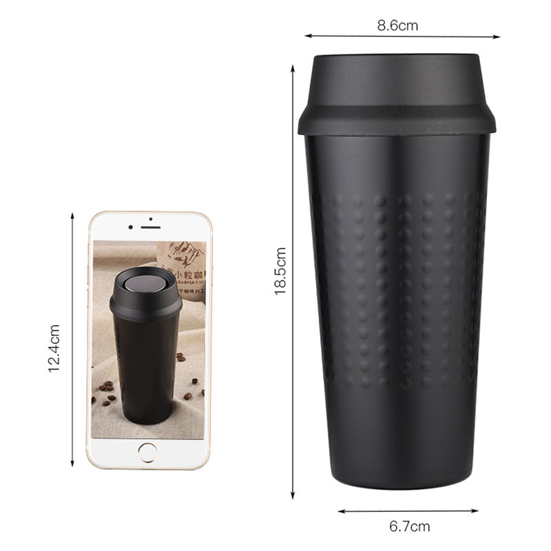 Bussiness Stainless Steel Coffee Milk Mug Vacuum Flask Outdoor Travel Thermo Water Bottle Office Thermos Tumbler Cup Car Tea Mug