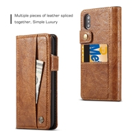 Luxury Case for iPhone XS X 11 12 Pro Max Phone Case Leather Flip Wallet Back Covers Case for iPhone XR Coque Ultra Slim Hoesje