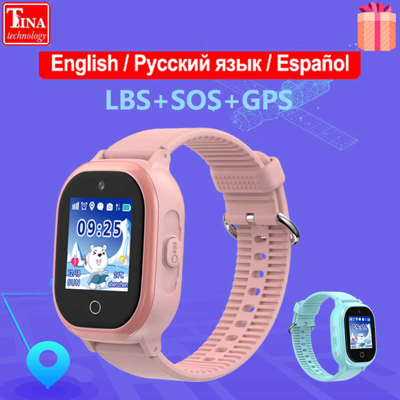 IP67 Waterproof TD06S GPS Children Watch Phone Positioning Fashion 1.3 Inch Color Touch Screen SOS Baby Smart Watch Boys Girls