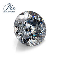 9mm fancy cut moissanite supplier factory direct supply wholesale round cut dark grey moissanite брелок браслетысерьгибрелок
