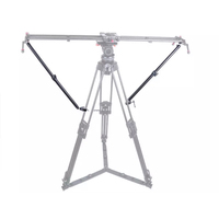 Bộ Đóng Chữ UI Statief Stabiliteit Armen Voor Trượt Camera Dolly Đường Ray Toenemende Stabiliteit Lichtgewicht Verstelbare Lengte (2 AR