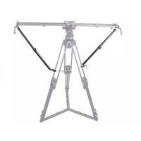 Yc ui statief estabilizeit armen para câmera deslizante dolly track ferroviário toenemende estabilizeit lichtgewicht verstelbare lengte (2 ar
