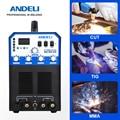ANDELI CT-520 ACDC Multi-Function AC/DC TIG Welding Machine TIG MMA ARC CUT 3 in 1 CUT Welding Machine TIG Welder