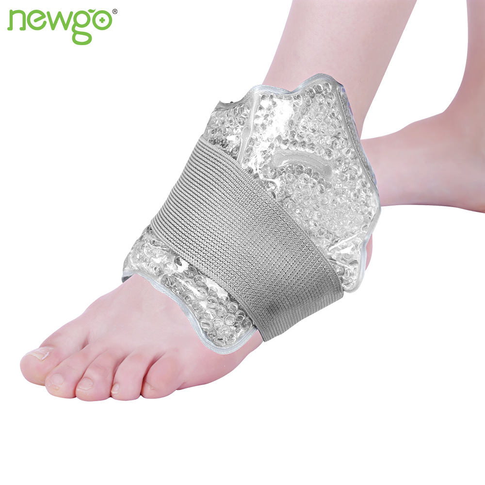 Ankle Ice Pack For Hot Cold Therapy With Reusable Gel Beads Ankle Brace Cold Pack For Sports Injuries Pain Relief