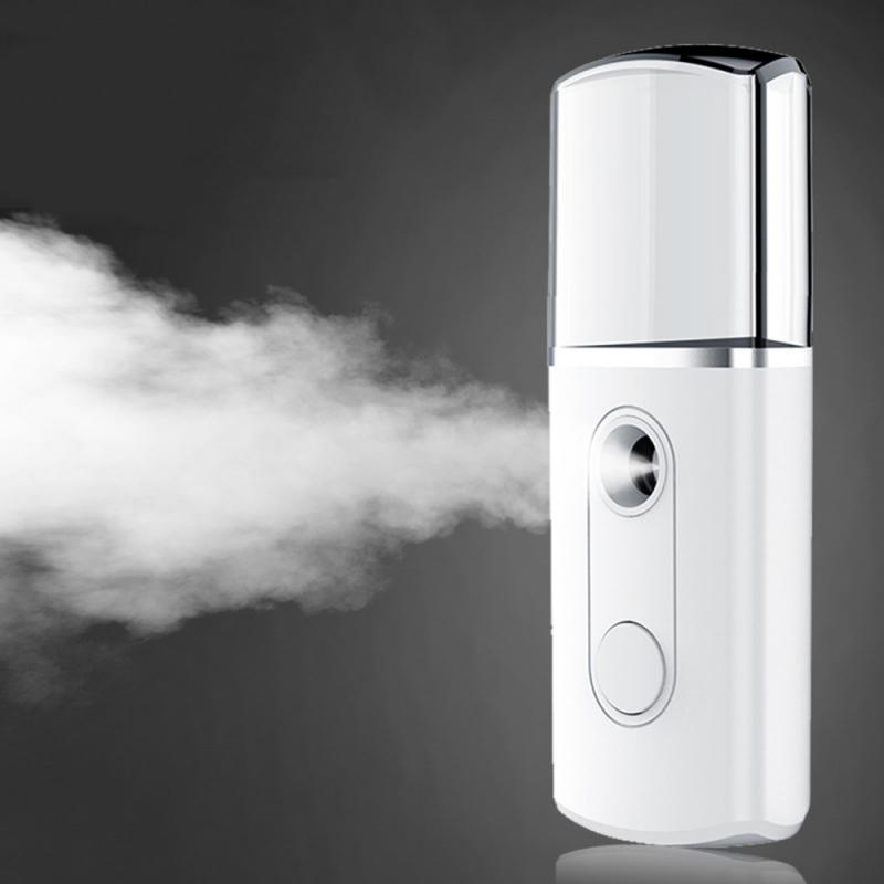 Face Steaming Device Moisturizer Nano Sprayer Handheld Cold Spray Steamer Portable USB Charging Humidifier