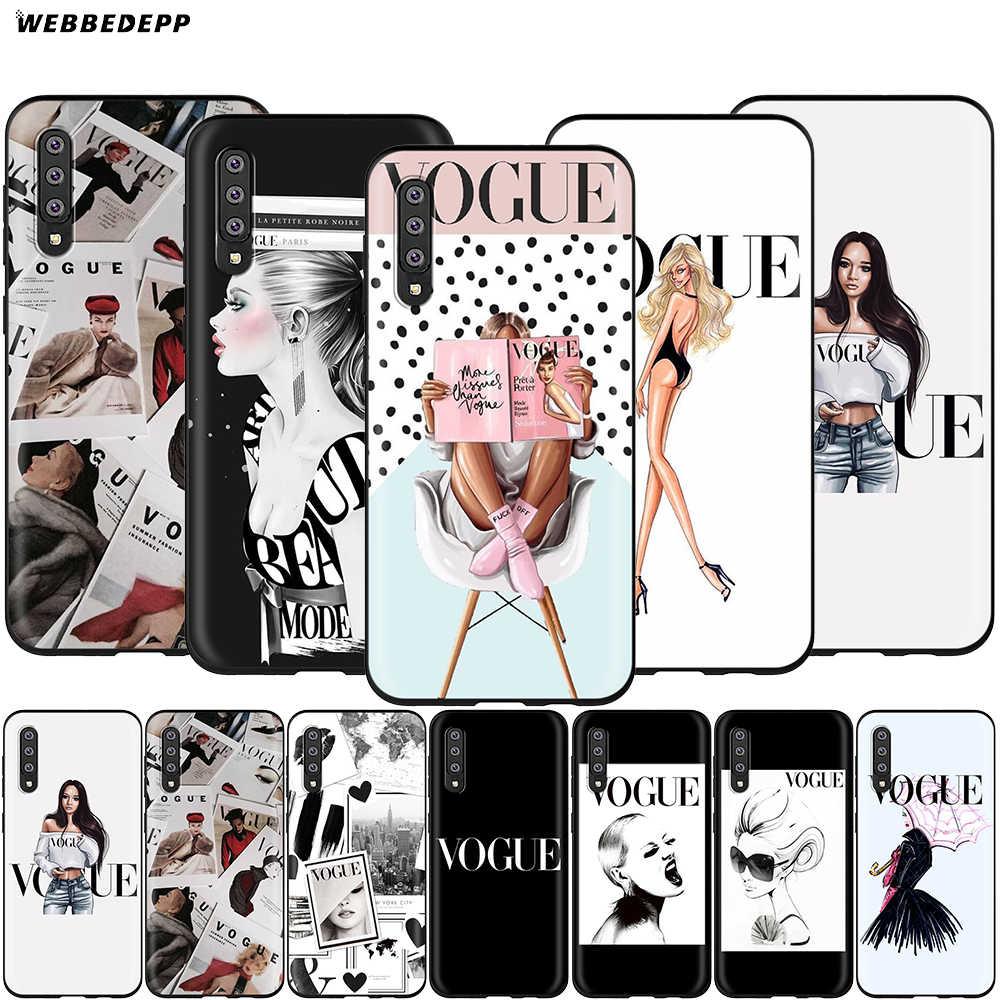 Webbedepp Più Problemi Di Moda per il Caso di Samsung Galaxy S7 S8 S9 S10 Più Il Bordo Nota 10 8 9 A10 a20 A30 A40 A50 A60 A70