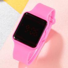 Children LED Electronic Dress Watch Kids Wristwatch Cartoon Watch