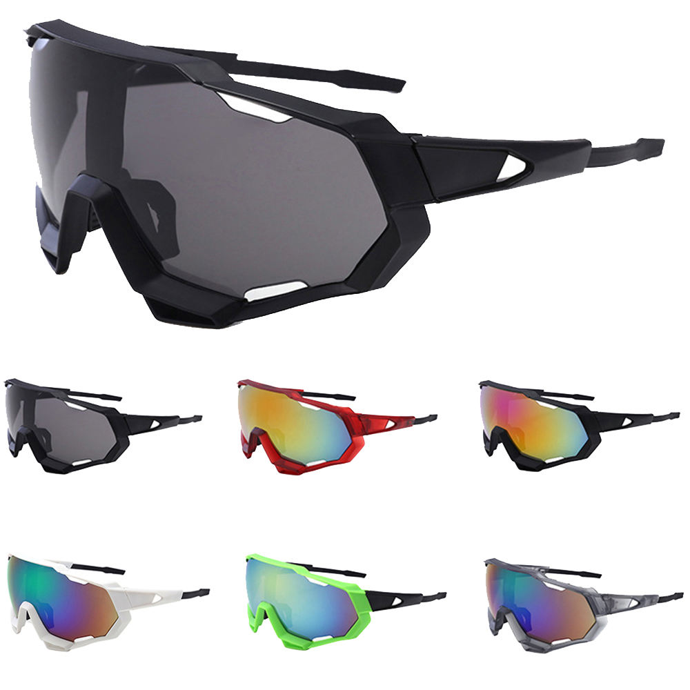 Men Women Cycling Glasses Colorful Windproof UV400 Sunglasses Fishing Riding Cycling Eyewear Outdoor Sports Glasses